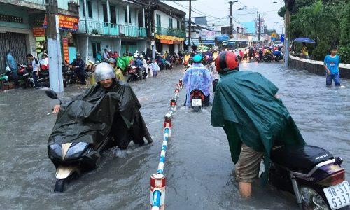 Kinh nghiệm mua nhà tránh ngập lụt tại Sài Gòn